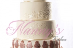Gâteau Floral Arabesque